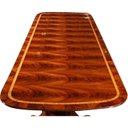 American Large Mahogany Dining Table, Table 13 + ft Long  $14,000