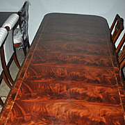 Unused, Hickory Chair Large Charleston 10 ft Long Dining Table Retails $7000.00