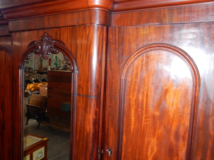 roll over large image to magnify click large image to zoom antique english mahogany armoire furniture
