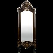 Antique French Rococo Vernis Martin Vitrine, Curio, Display Cabinet Circa 1920