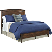 Showroom Sample Kincaid Queen Gatherings Collection Arch Bed 44-2130 Retail $2500