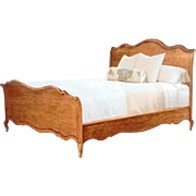 "Showroom Sample Drexel Heritage King Ciney Bed European Collection, 55 ""H, 850-351"