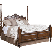 Showroom Sample Kincaid Moonlight Bay Plantation Poster Queen Bed 65-146, MSRP $2000