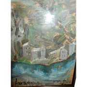 Tatiana Loguine Original Acrylic Painting 26 x 28