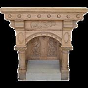 Antique NeoClassic Church Table, Circa 1880, 36″H, PA4742