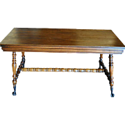 Antique Piano Bench, Solid Wood, Ball & Claw Feet , Circa 1890, PA4752