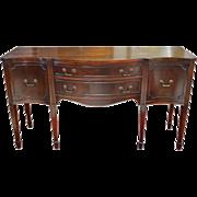 Vintage Davison Paxon Mahogany Sideboard, Buffet, 66″W