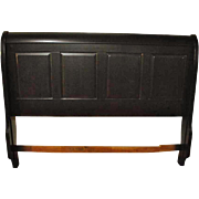 "Unused, Showroom Sample Kincaid King Size Panel Sleigh Bed, Dark Cherry Finish, 60"" H"