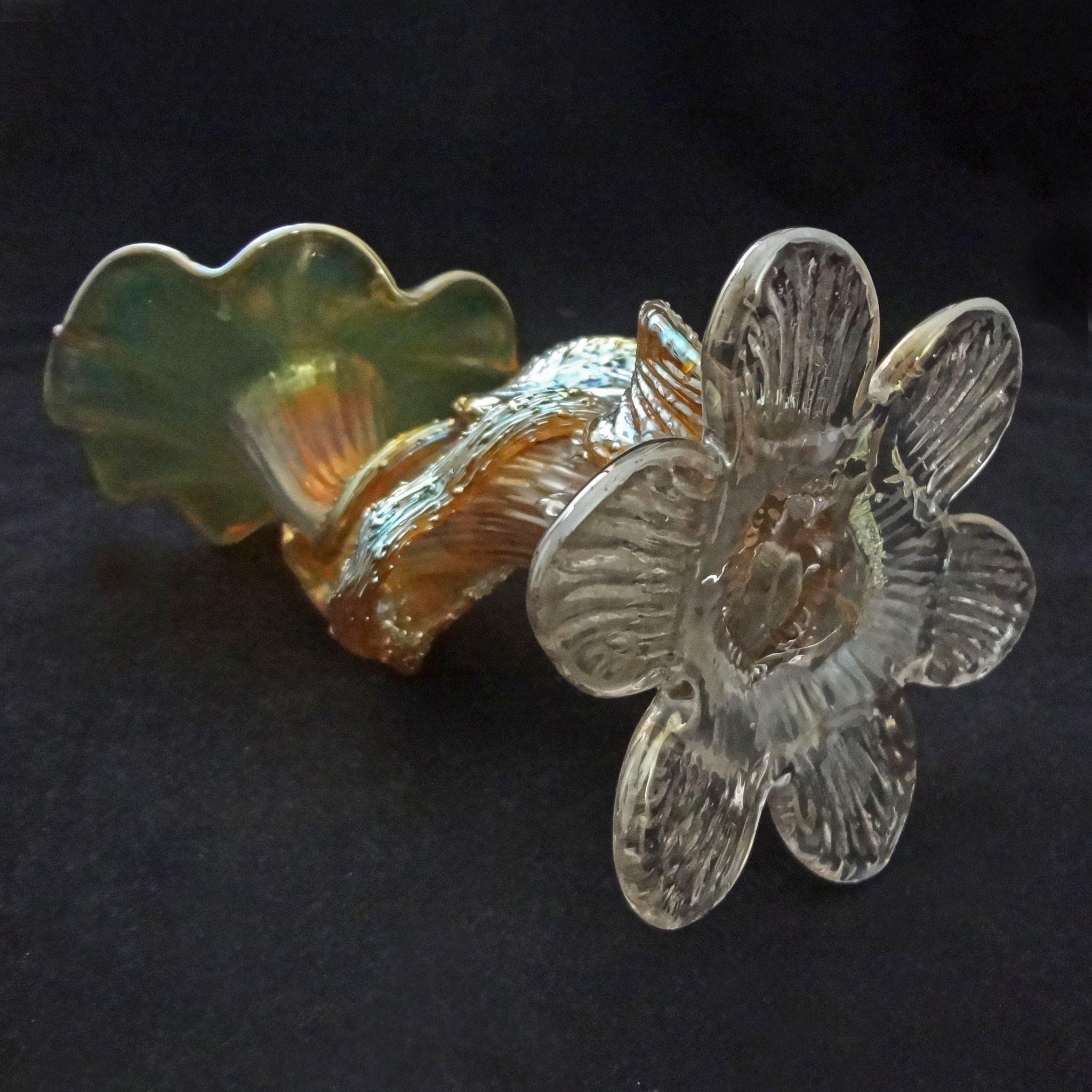 Loetz flower form vase flower inspiration loetz flower form vase inspiration reviewsmspy