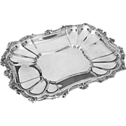 Sheffield Silver Plated Rectangular Serving Platter - 20th Century, USA