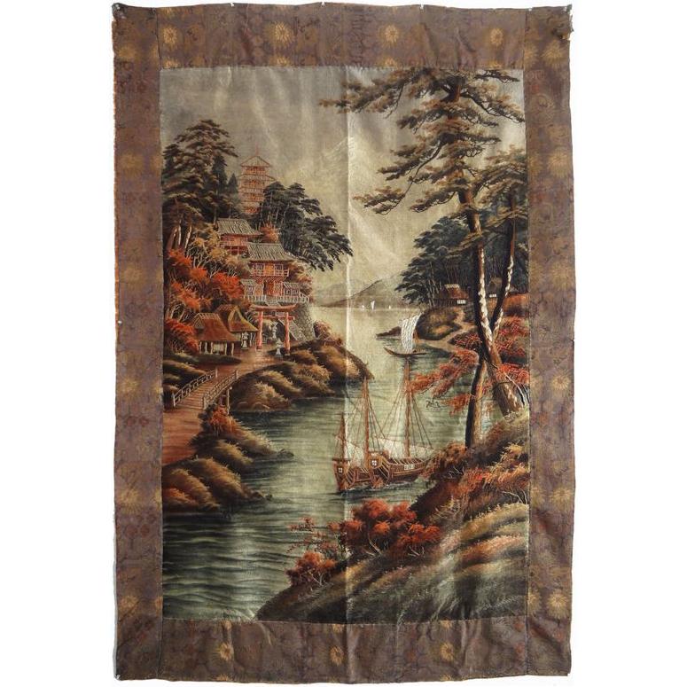 Large Vintage Tapestry