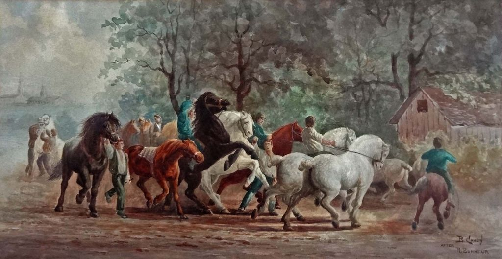an analysis of the horse fair painting Title: the horse fair from the celebrated painting by rosa bonheur date created/published: [no date recorded on shelflist card] medium: 1 print.