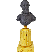 Black Basalt Parian Bust of Henri IV King of France by Mottahedeh - 20th Century, Italy