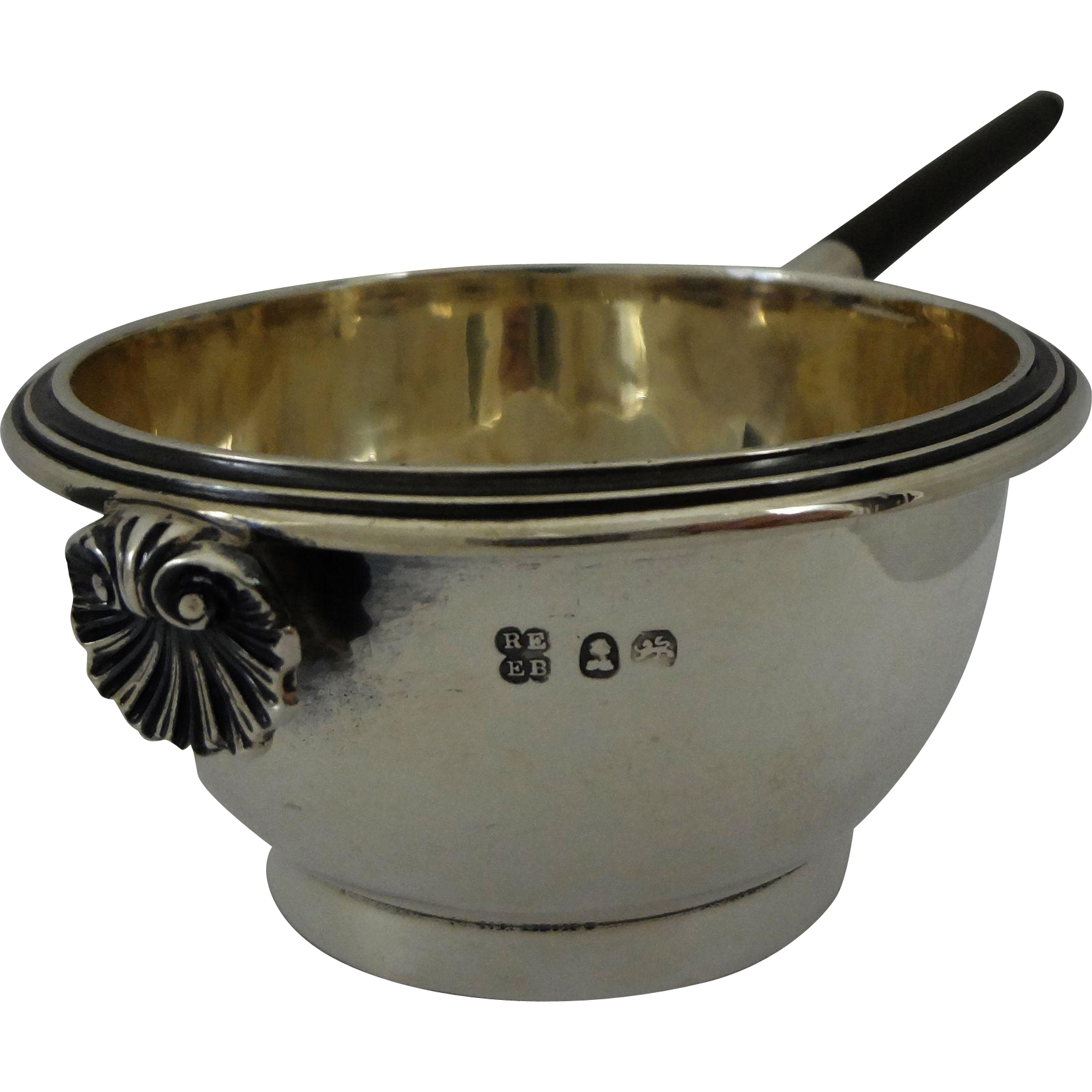 Georgian Sterling Silver Strainer by Emes & Barnard London - c. 1808-1821, England
