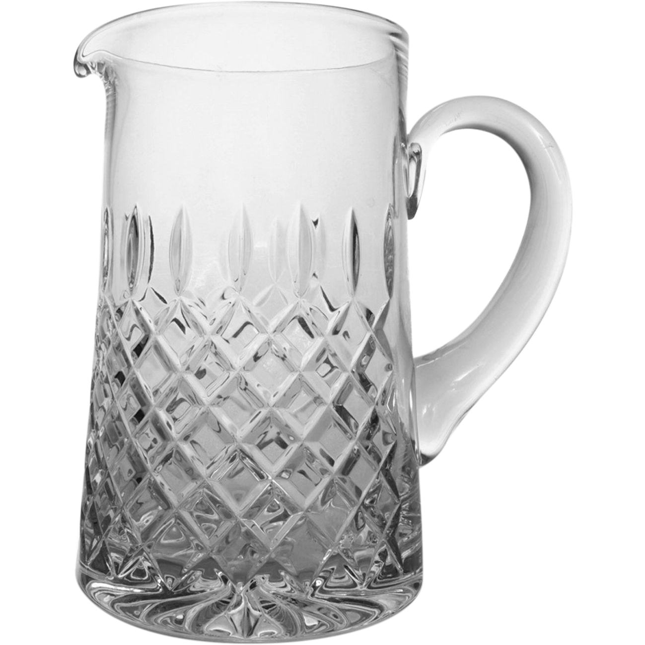 Cut Cristal Pitcher Marked Atlantis - 20th Century, Portugal