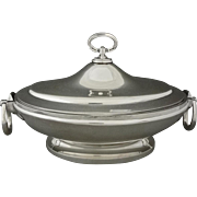 Gorham American Lidded Tureen / Casserole Silver Soldered - c. late 19th Century, USA