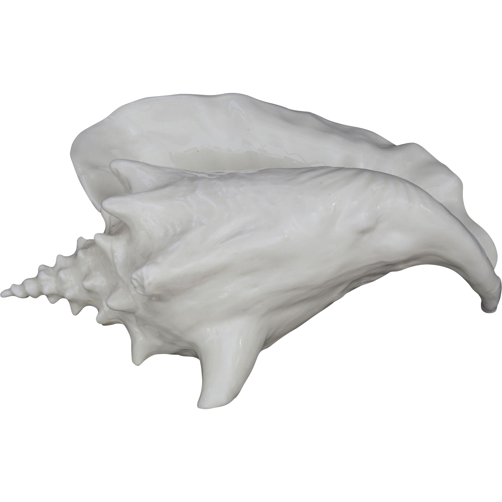 Royal Worcester Bermudan Shell Figurine Model 3545 Ronald van Ruyckevelt - 1955, England