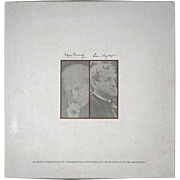 Andrew Wyeth and Eugene Ormandy Limited Edition Print and Long Play Record - 20th Century, USA