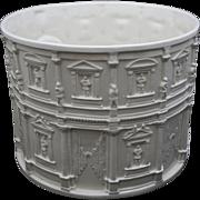 Huge Tiffany & Co. Ceramic / Faience Planter / Jardiniere / Wine Cooler / Centerpiece- 20th Century, Italy