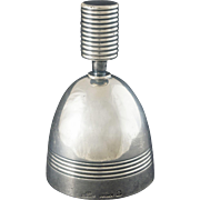 French Christofle Silver Plate Traditional Servant / Server / Call Bell Art Deco Style - 1935 to 1983, France