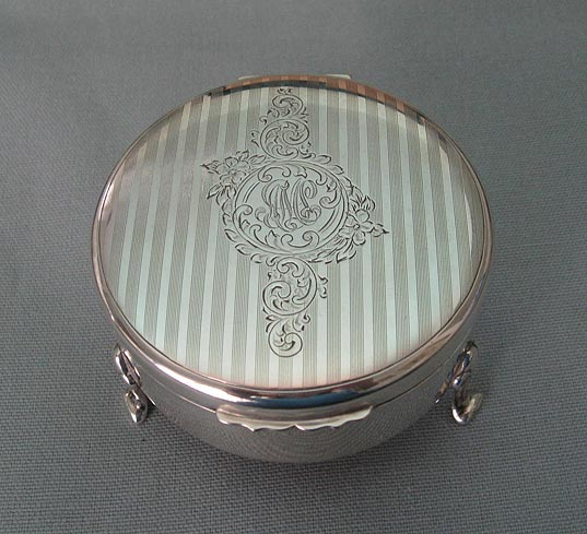 Birks Sterling Jewelry Box