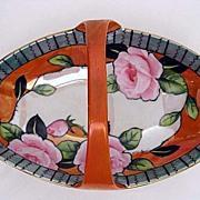 Noritake Art Deco  Basket