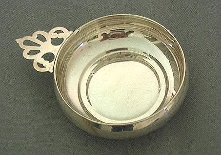 Small Sterling Porridge Bowl