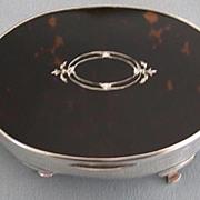 English Hallmarked Sterling Silver Jewelry Box