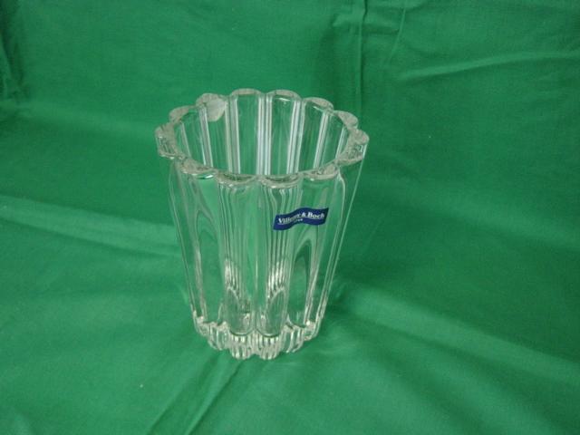 Villeroy & Boch Heavy Lead Crystal Vase