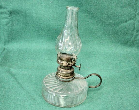 Vintage Mini Oil Finger Lamp # 4