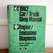 1982 Car/Truck Ford Service Manual