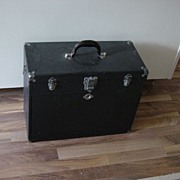 Vintage Gershner 11 Drawer Black Tool Box