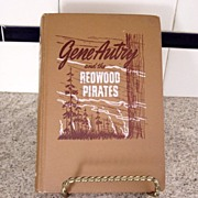 Vintage Gene Autry Redwood Pirates Book 1946