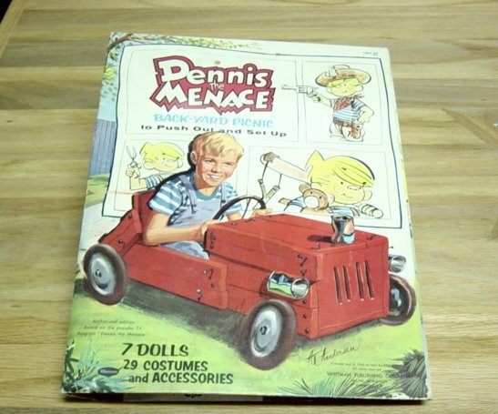 Vintage 1960 Dennis The Menace Paper Dolls Whitman Publishing