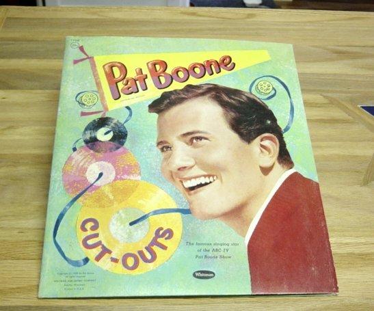 Vintage Pat Boone Paper Dolls !959