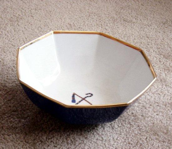 Vintage Fitz and Floyd Tutankhamun Bowl