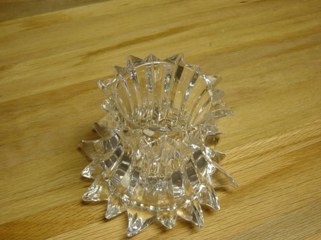 Large Party Lite Candle Holder Made In Germany