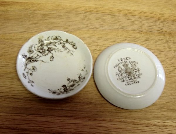 Vintage J & G Meakin Ironstone Butter Pats