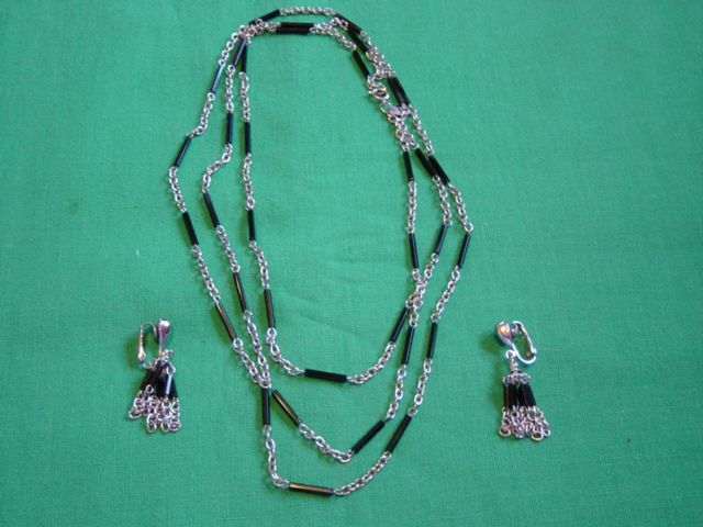 Vintage Park Lane Necklace And Earring Set