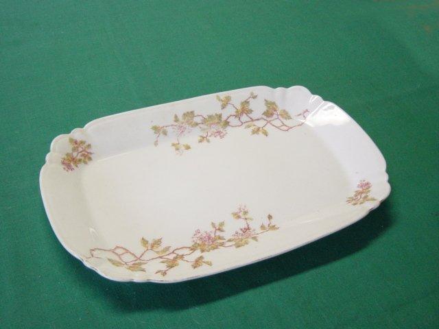 Vintage LS&S Carlsbad Austria China Platter