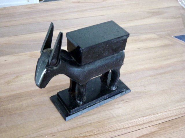 Vintage Plastic Donkey Cigarette Dispenser