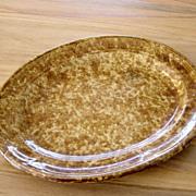 Vintage Bennington Sponge Ware Platter