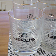 Lexus New Car Buyer Gift Brandy Glasses