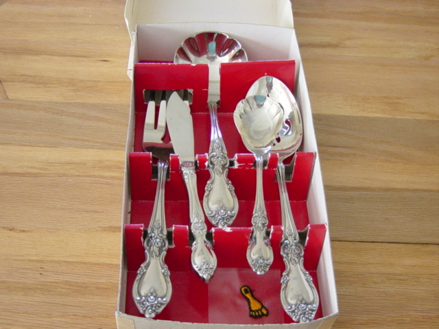 Community Stainless By Oneida 5 Piece Serving Set