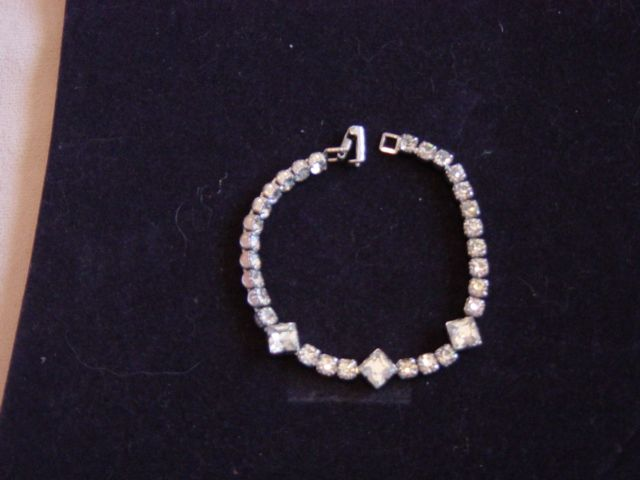 Kramer Single Row Rhinestone Bracelet