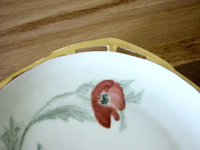Vintage MZ Altrohiau CM-R Small Charger Plate