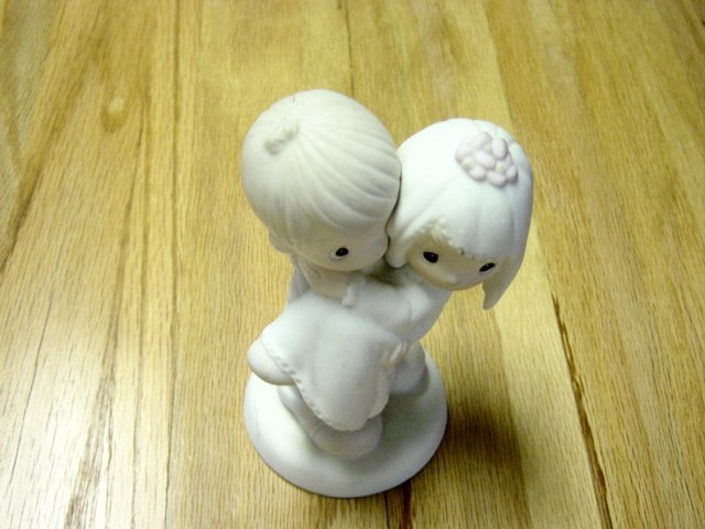 Vintage Enesco Precious Moments Bless You Two