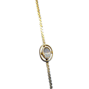 Goldette NY Single Stone Bracelet