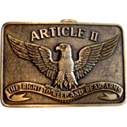 Article11 Eagle Bear Arms Belt Buckle