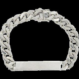 TIFFANY & Co. Vintage Sterling Chain I.D. Bracelet